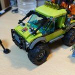 レゴ (LEGO) シティ 火山調査トラック 60121 を作ってみた