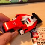 レゴ(LEGO) スピードチャンピオン スクーデリア・フェラーリ SF16-H 75879 を作ってみた(その2)