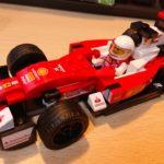 レゴ(LEGO) スピードチャンピオン スクーデリア・フェラーリ SF16-H 75879 を作ってみた(その3)