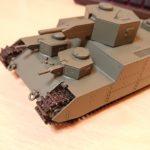 ファインモールド 1/72 陸軍150t超重戦車[オイ] を作ってみた(その6)