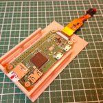 タミヤ 1/35 マークIV カメラ付きラジコン化計画 (その12) ~3Dプリンタでラズパイの台座を作成する~