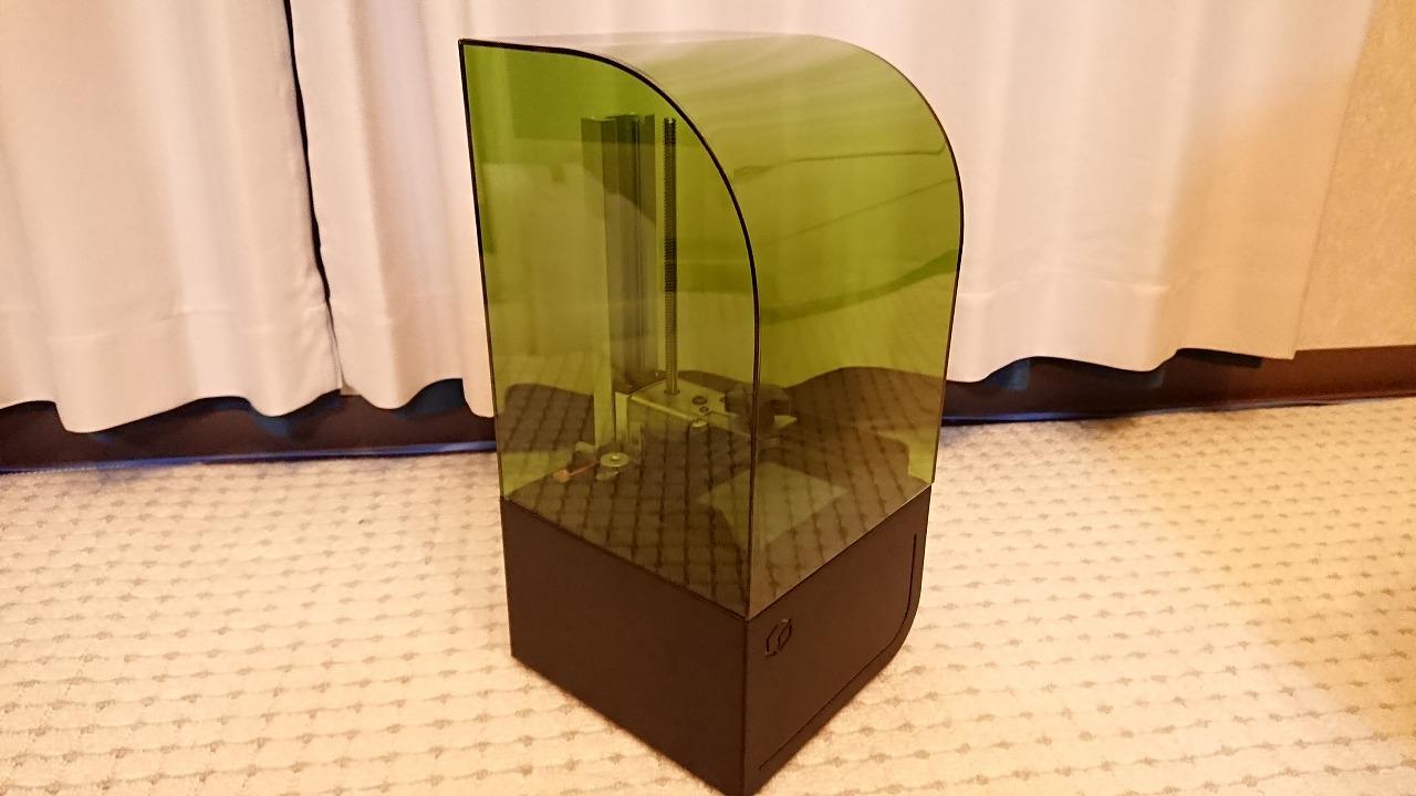 Kudu3Dの光造形3DプリンタBean3Dをいじってみた(その1)~開封編~