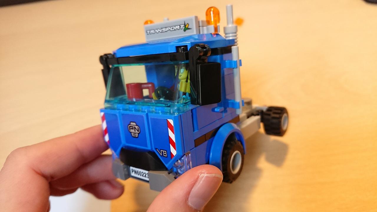 レゴ(LEGO) シティ 収穫トラクターと輸送車 60223を作ってみた(その1)~トラックの作成~