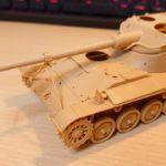 タミヤ 1/35 AMX-13 を作ってみた(その2)