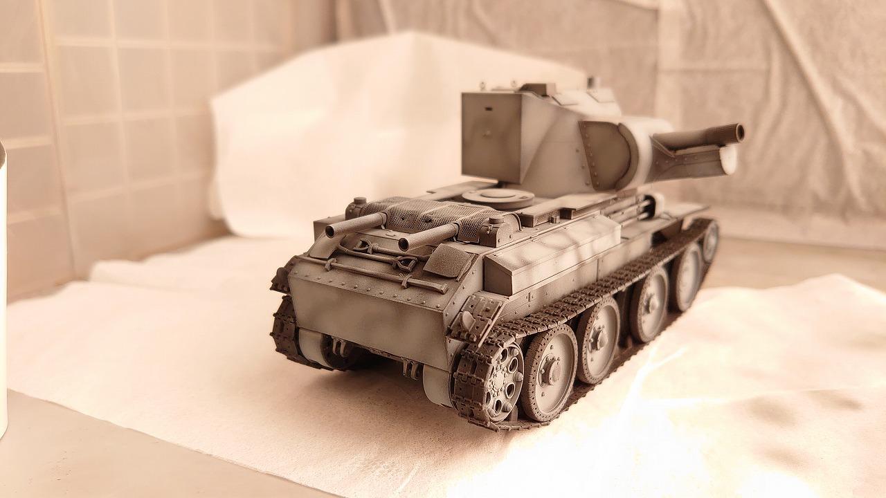 タミヤ 1/35 BT-42 を継続高校仕様にして作ってみた(その1)