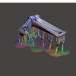 Kudu3Dの光造形3DプリンタBean3Dをいじってみた(その4)~サポート材をつける~
