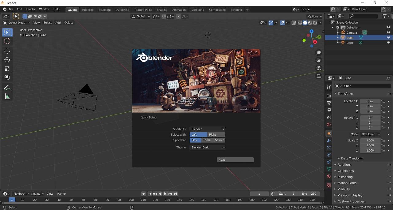 【2020年版】Blender2.8の日本語セットアップ方法