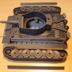 タミヤ 1/48 ドイツ重戦車 タイガーⅠ初期生産型 を作ってみた2