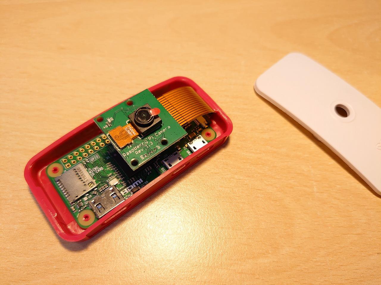 【最近購入した物】Raspberry Pi Camera/ABSカバーシェルシェルなど