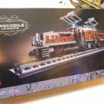 【最近購入した物】LEGOクロコダイル電気機関車10277とLEGO 40周年限定 40370 Steam Engine