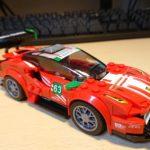 レゴ(LEGO) スピードチャンピオン フェラーリ 488 GT3 スクーデリア・コルサ 75886 を作ってみた