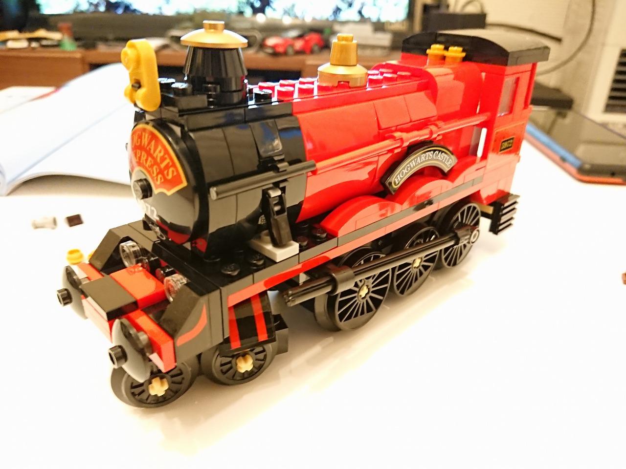 レゴ(LEGO) ハリー・ポッター ホグワーツ特急 75955 を作ってみた(その2)~機関車の作成~