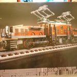レゴ (LEGO) クリエイターエキスパート クロコダイル電気機関車 10277 を作ってみた(その1)~土台の作成~