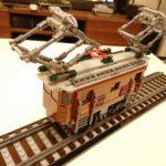 レゴ (LEGO) クリエイターエキスパート クロコダイル電気機関車 10277 を作ってみた(その2)~機関車の作成~