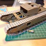 AFVクラブ 1/35 チャーチル MK.III 工兵戦闘車 ラジコン化計画 (その1) ~足回りの作成~