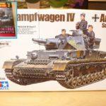 【最近購入した物】タミヤ 1/35 ドイツ IV号戦車 F型とグランドパワー(12月) 2021年 02 月号
